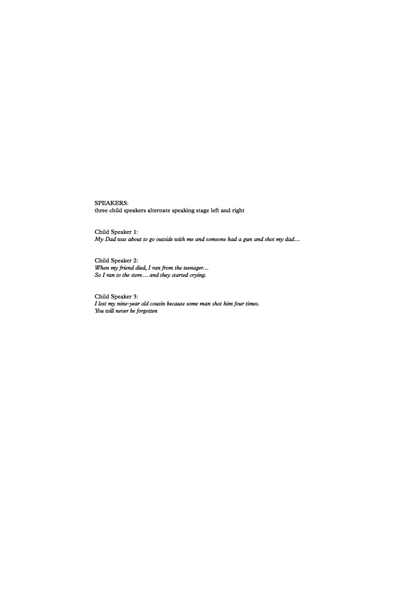 A Child's Requiem | Steven Sametz